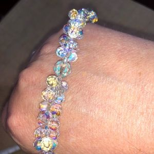 🧺 Clear iridescent Bracelet Jewelry Emily Rae